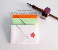 Come creare una busta da un foglio (Tutorial)