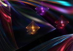 diamond fractal   Diamonds and Satin by saleire