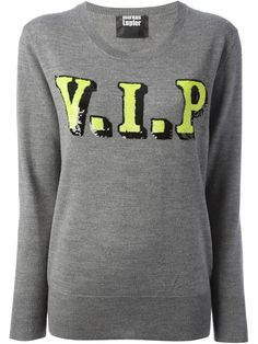 MARKUS LUPFER 'VIP' sequin sweater - £189 on Vein - getvein.com