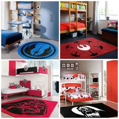 New Star Wars Rugs just added to our product line. Buy as is or customize with a name or any text you might like. We also can customize any design.
