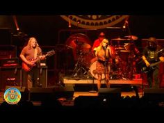 "Stellar---> Gov't Mule - ""Gold Dust Woman"" ft. Grace Potter - Mountain Jam VI - 6/4/10"