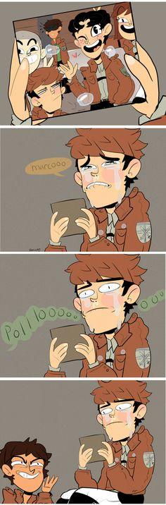 Aot Memes, Funny Memes, Hilarious, Art Manga, Manga Anime, Attack On Titan Meme, Mini Comic, Baguio, Levi X Eren