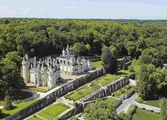 12 великолепных замков в долине реки Луары во Франции