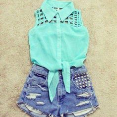 Blue top I love this but getting small so I'm letting it go FL Tops
