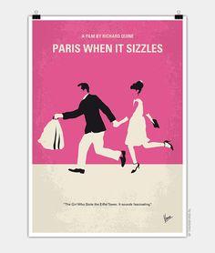 Chungkong, Paris when it sizzles, Minimal Movie Poster