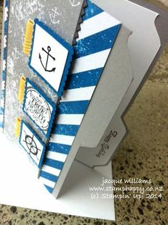 Hello, Sailor! with Stampin' Up! High Tide dsp