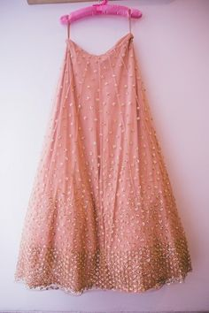 shimmery pastel pink lehenga , from a site for Indian weddings. Wow!