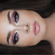 """36.3k Likes, 134 Comments - Naomi Giannopoulos (@vegas_nay) on Instagram: """"Stunninggg @jessicarose_makeup soft glow in rose gold hues"""""""