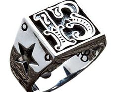 Designed to attract luck, our Number 13 Sterling Silver Biker Ring is made of solid silver and emblazoned with a big 13 number and stars carvings on the sides Mens Band Rings, Rings For Men, Making Bracelets With Beads, Denim Mini, Silver Ring Designs, Sterling Silver Mens Rings, 925 Silver, Biker Rings, Unique Gifts For Men