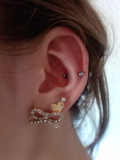 I love ear piercings but I'm actually more scared to get them then I was when I got my tattoos done!