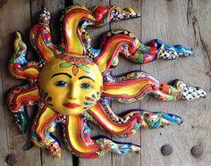 Mexican Talavera Pottery Cow S Skull Sculpture 11 Quot Cow