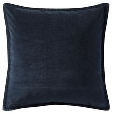 Pottery Barn Washed Velvet Pillow Cover ($30) ❤ liked on Polyvore featuring home, home decor, throw pillows, pottery barn throw pillows, velvet throw pillows, pottery barn, plush throw pillows and velvet accent pillows