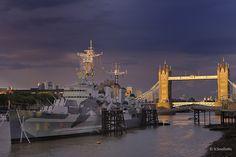 HMS Belfast by Bill Souliotis on 500px