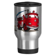 Cars Red Disney Coffee Mugs