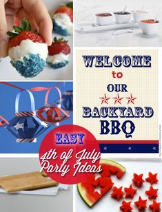 lantern decor for fourth of july   Flashback Friday - Fourth of July Ideas - Crazy Adventures in ...