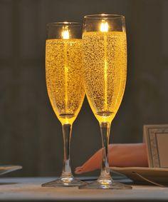 キャンドル シャンパンフルート Candle