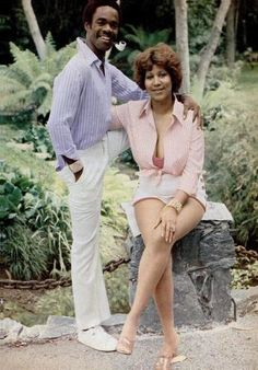 Glynn Turman and Aretha Franklin  Who knew? Depending on which decade you were born, you may remember Glynn Turman best for his role in Cooley High or his stint as  retired Army colonel Bradford Taylor on A Different World or his role on the HBO drama The Wire.  Needless to say, we had no idea that the actor was married to Aretha Franklin from 1978-1984. They had no children together.