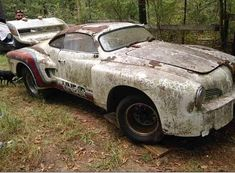 Classic Car News Pics And Videos From Around The World My Dream Car, Dream Cars, Vintage Cars, Antique Cars, Volkswagen Karmann Ghia, Vw, Ferrari Mondial, Rust In Peace, Abandoned Cars