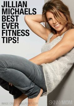 Jillian Michaels Best Ever Fitness Tips Reto Fitness, Fitness Diet, Fitness Motivation, Health Fitness, Fitness Quotes, Fitness Goals, Jillian Michaels, Weight Loss Tips, How To Lose Weight Fast