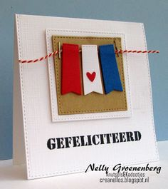 Crea Nellos: Gefeliciteerd.....