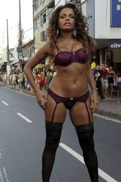 Carnaval dancer/model/actress Quitéria Chagas