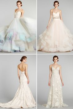 Swoon Over Lazaro's New Bridal Collection- the top 2... Oh my gosh!