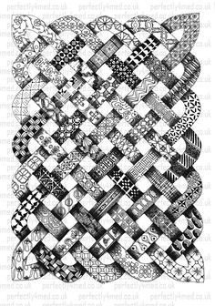 http://perfectly4med.files.wordpress.com/2012/04/anniversary-web.jpg  amazing!  While it is shown in black and white here, I think it would make for a spectacular red and white quilt.