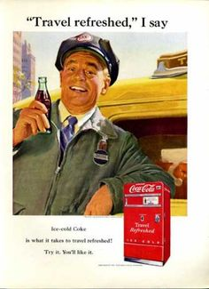 "Coca-Cola ""Travel Refreshed"" (Taxi Driver),1951"