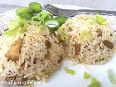 Rýže basmati je už sama o sobě výjimečná svou chutí. Když ji ale připravíte na voňavém pórkovém základu a smícháte s lahodnou hlívou, budete překvapeni.