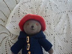 Yellow, Pink and Sparkly: Paddington Bear Pattern, free