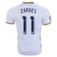 LA Galaxy 2016-17 Season ZARDES #11 Home Soccer Jersey [D325]