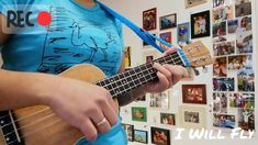 I Will Fly - Tentofive (Ukulele Cover - YouTube) Ukulele, Guitar, Music Instruments, Cover, Youtube, Musical Instruments, Blankets, Guitars, Youtube Movies