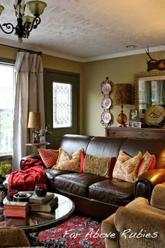 South Shore Decorating Blog: Answering Your Questions Part 3: How to Deal With a Front Door That Opens Into The Living Room