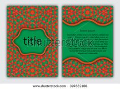 #Cover template for #book, #brochure, #booklet, #notebook, #copybook, #album or…