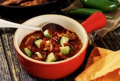 Paleo Crock Pot Chili. Ground beef (or turkey) and veggies only, no beans