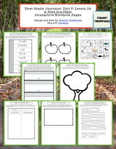 1st Grade Journeys (2014) Lesson 24 Interactive Notebook Pages. These interactive notebook pages are a great supplement to what is already included in the Journey's curriculum. I find that my students get more excited doing these types of activities rather than just workbook pages.