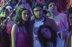 NEIGHBORS (May 9): Two new parents (Seth Rogen and Rose Byrne) clash with a houseful of rowdy frat brothers. Zac Efron plays the Big Man on Campus. Directed by Nicholas Stoller