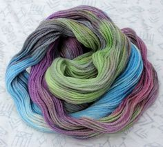 Watercolor Dreams Colorway  One of a Kind  ONLY one by GroovyHues, $15.00