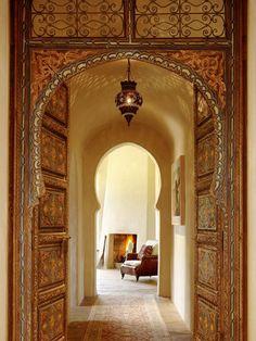 North Star Ranch interior doorway
