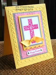 Easter Card by danamy - Cards and Paper Crafts at Splitcoaststampers
