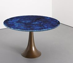 203: ANGELO MANGIAROTTI, Rare dining table, c. 1963    Berning and Paolo De Poli
