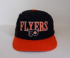 Sports Specialties late 90s Philadelphia Flyers 'Laser' Snapback (nwot)