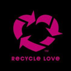 'Recycle Love' branding mark by Erik Ries, via Behance