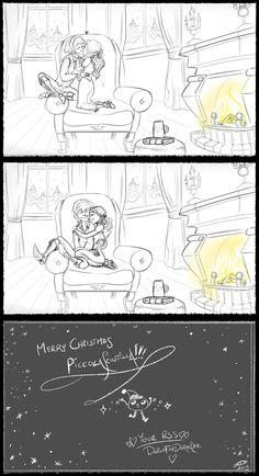 Rumbelle fan art cartoon 5/5