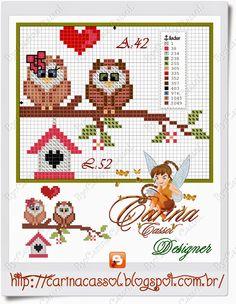 http://carinacassol.blogspot.com.br/2015/02/mini-corujinhas-delicadas-em-ponto-cruz.html