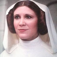 In her last cinematic appearance, even when everyone we had grown the love in the film was dead or dying, she gave us HOPE. Bless Carrie Fisher and all that she had done while she was with us.