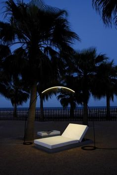 branch outdoor chair | metal outdoor chair from tribù | landscape