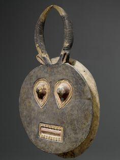 Baule Goli Kple Kple Mask