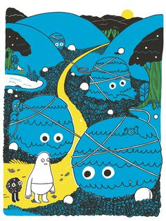 ANDY J. MILLER — NOD JOURNEY SCREEN PRINTS