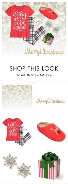 """""""FIRST CHRISTMAS SET!!!"""" by natalie83322 ❤ liked on Polyvore featuring New Directions, Design Lab and Grandin Road"""